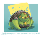 DH - holy armored toad by shoze