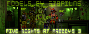 Five Nights at Freddy's 3 by STBfilms