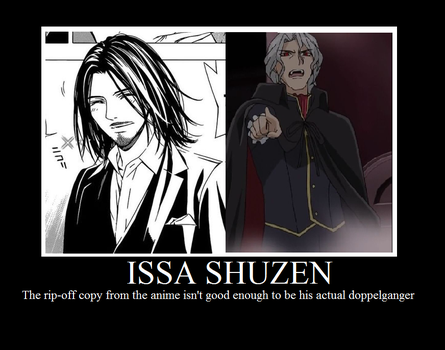 Rosario + Vampire Anime Issa Shuzen Demotivational by FrancisJeremyXavyer