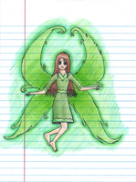 OLD ART some fairy thing... by Aroselia