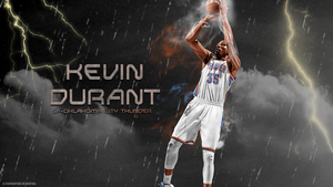 Kevin Durant wallpaper by chronoxiong