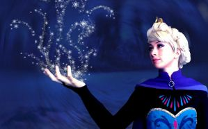Let it Go - Elsa by jellyfire