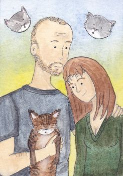 ATC - Family Portrait: 2012 by LadyDorian