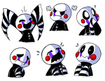 The Many Emotions of Puppet Baby by TerraTerraCotta