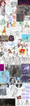 Doodle Dump Sept'16 by WforWumbo
