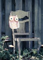 Owl Chair by Abaddon8k