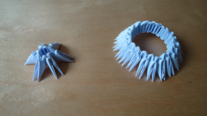 How To Make 3D Origami Base by IDEAndo-art