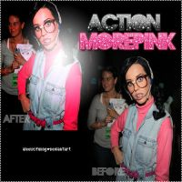 Action More pink' by aleewsfunny