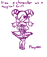 Prompt Game - Flayson the Magical Girl by Lily-Bell-Cat