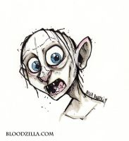 Gollum by Bloodzilla-Billy