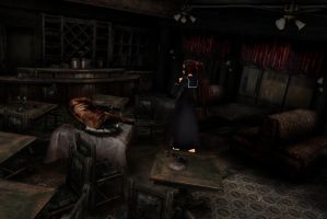 MMD Stage Silent Hill The Diner DL by Clonesaiga