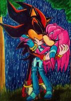 Passion In The Rain by Sky-The-Echidna