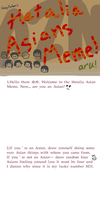 Hetalia Asian Meme by Usakan