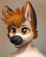Shade [Portrait Commission] by RedScarf045