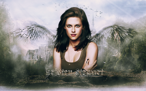 Kristen Stewart Angel in the Sky by adoring-kstew