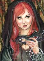 Cathrine (ACEO) by JannaFairyArt