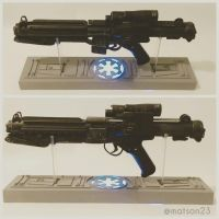 E-11 blaster with stand by Matson23