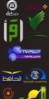 logo of islamics channels by al maghriby by ahdaiba