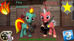 Fire Braker and Shooting Star (DL) by Out-Buck-Pony