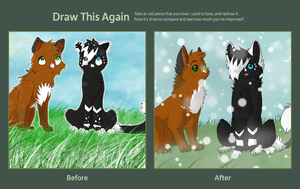 draw this again! by PenguinEatsCarrots