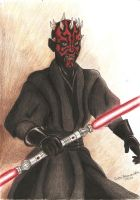 Darth Maul by abdre16