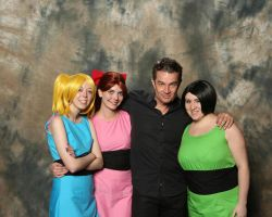 Powerpuffs with James Marsters/ Spike from Buffy! by jokersdraw