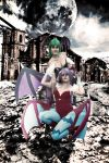 Morrigan e Lilith by justicetropa312