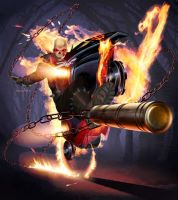 Ghost Rider by ArtBot97