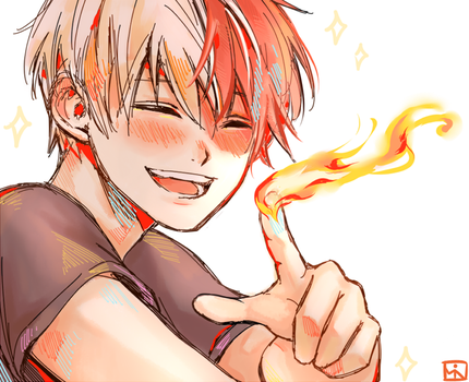 Shouto by soreiyu-run
