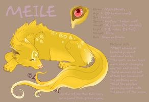 Meile Character Reference by SabakusunArt