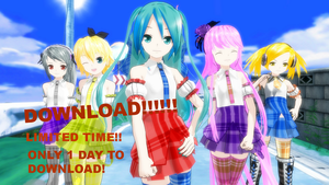 LAT Plaid Girls Pack DL (Download over) by MMDCousins