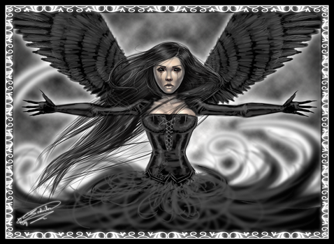 Dark Angel by Jadeitor