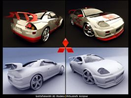 Mitsubishi Eclipse Tuned by saltshaker911