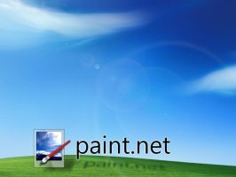 Paint.NET Bliss by usedHONDA