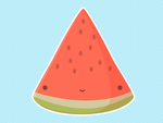 Cute Watermelon by apparate