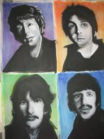 WIP: The Beatles 02 by XavierJonesArt