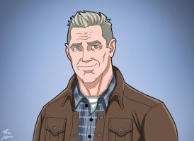 Jonathan Kent (Earth-27) commission by phil-cho