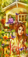Selena Gomez, Dylan O'Brien and Claire Holt by by-Oblomskaya