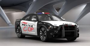 Dodge Charger SRT-8 Police Car by bhw2279