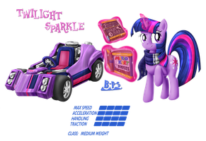 PonyKart - Twilight 2 by Blue-Paint-Sea
