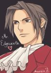 Ace Attorney: Mr. Edgeworth by Medlih