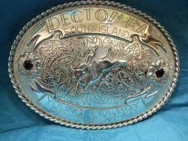 Rodeo Buckle by AgentDarling1889
