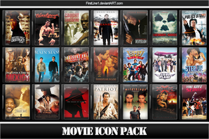 Movie Icon Pack 65 by FirstLine1