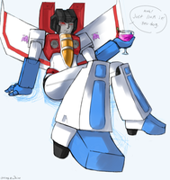 Starscream by Atlas-White