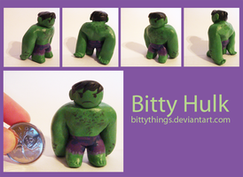 Bitty Hulk - GIFT by Bittythings