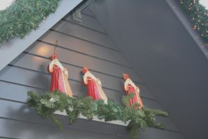 view to little St. Nicholas figures by ingeline-art