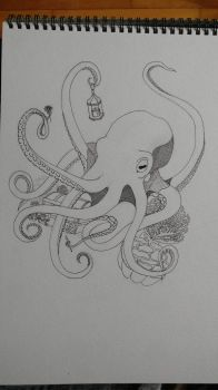 Octopus  by Katastrophe2102