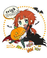 Trick or Treat! blog chibi by 13462067