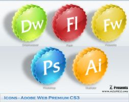 Icons for Adobe CS3 by code90