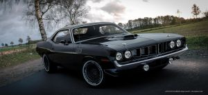 Plymouth Cuda by rOEN911